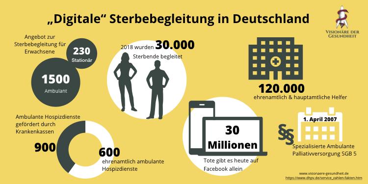 Infografik zu Sterbebegleitung
