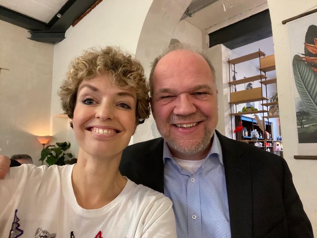 Inga Bergen und Drin Heckmann